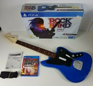Rock Band 4 Wireless Guitar PlayStation 4 PS4 Jaguar INCLUDES Game! - Rockband