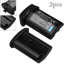 2x 3200mAh LP-E4N LP-E4 Battery For Canon EOS 1D 1Ds X 1DX Mark 3 III 4 IV 1DX