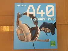 USED Astro Gaming A40 Wired Stereo Gaming Headset Xbox One Gray/Blue