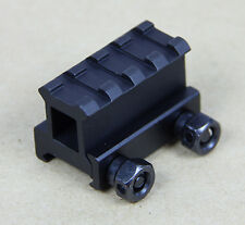 "1"" 4 Slot Medium Riser 20mm Weaver Picatinny Base/Scope Mount Rail"