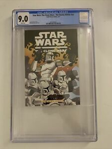 Star Wars: The Clone Wars - The Enemy Within - CGC 9.0 - Only 2 On Census