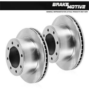 For Chevy GMC K3500 Dually Front 327 mm 8 Lug Quality Replacement Brake Rotors