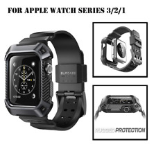 For Apple Watch S3/S2/S1 42mm/38mm, SUPCASE Smart Watch Band Case w/ Band Straps