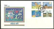 Bophuthatswana - FDC 2.15 Kinderbilder 1989 Mi. 218-221