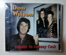 Tribute to Johnny Cash - Don Wilson (CD, Apr-2004, Legend Records)