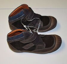 BNWT Beautiful Designer D&G DOLCE & GABBANA Boys Suede High Top Sneaker Shoe 32