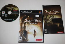 Silent Hill Origins Sony Playstation 2 PS2 Video Game Complete