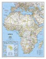 National Geographic Maps National Geographic: Africa Classic Wall Ngmre00620142