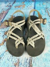 Chaco ZX2 Beige Hiking Trail Running Strappy Sports Sandals Shoes Women's Size 7