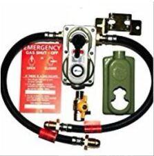 2 BOTTLE CONNECTOR AUTO CHANGE OVER LP LPG PROPANE GAS REGULATOR PROPANE + HOSES