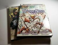 Brandon Sanderson WHITE SAND & WHITE SAND 2 Graphic novels HARD COVER First Ed