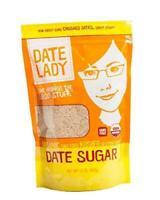 Date Lady Pure ORGANIC Date Sugar NON-GMO, VEGAN, GLUTEN-FREE & KOSHER A