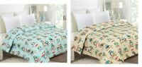 COZY WARM OWLS IN HAT SCARF COMFORTER BEDROOM BEDDING FULL QUEEN KING SIZE NEW