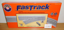 LIONEL FASTRACK 6-81949 REMOTE 0-48 O48 LEFT HAND COMMAND SWITCH TRACK O GAUGE