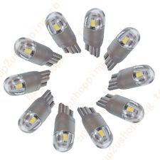 10X T10 W5W LED Bulb White Light 3030 168 12V 2smd Parking License Plate Lamp