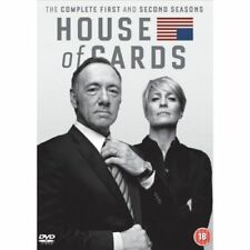 House Of Cards Seasons 1&2 Dvd Kevin Spacey Brand New & Factory Sealed