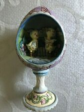 Jim Shore Heartwood Creek Easter Chicks in Egg Diorama Figurine ~ 4009253