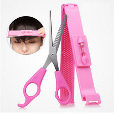 2pcs Hair Styling Tools Salon Bangs Scissors Hair Cutting Scissors With Ruler