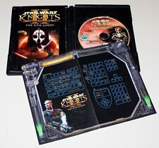Star Wars-Knights of the Old Republic II-Sith Lords-Kotor PC DVD manual