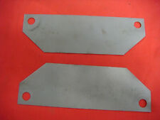 PAIR OF1964 1966 1967 FORD MUSTANG GT 289 4V MOTOR MOUNT HEAT SHIELDS  A CODE