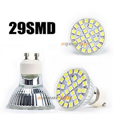 Ultra Bright GU10 5050 29SMD 7W LED Spotlight Cool White Lamp Bulb 220V L0214 US