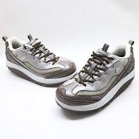 Skechers Shape Ups 11816 Women's Walking/Toning Shoes Brown Size 8 US