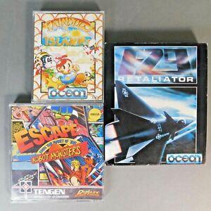 Amiga Flights Of Fantasy, Rainbow Islands, F29 Retaliator, EFTPOTRM AL/PB
