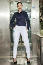 Pantaloni da donna affusolati bianchi
