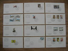 BELGIUM, lot 51 covers FDC's 1964-1974, Phil club Duinwijck Den Haag. Very rare