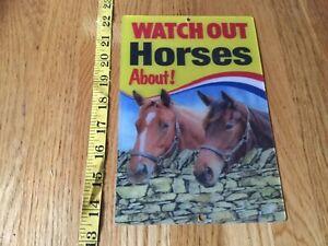 3D horses picture