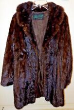 Peter Duffy N.Y -  VTG Custom Women's Long Mink Fur Coat Beautiful