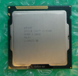 Intel i5 Quad Core Processor i5-2500K SR008 3.30GHz 6M Socket 1155 Processor CPU