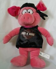 Harley davidson Plush Pink Hog Hogs -n- Kisses pig with doo rag