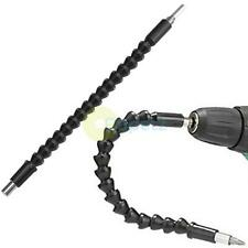 "12"" Long Flexible 1/4"" Screwdriver Bit Holder Extension Drill Driver Bendy"