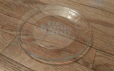 vintage glass plate trophy The Tennis Farm Champions Sports Collectible Collect