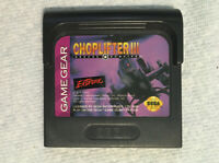 Sega Game Gear - Choplifter III 3 Cartridge