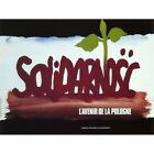 Propaganda Political Solidarity Trade Union Poland France 12X16 Framed Art Print