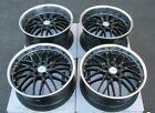 Mrr Gt1 Gloss Black Wheels For Chevrolet Corvette C5 19x8.5 20x10 Rims Set 4