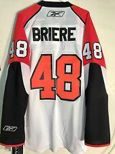 Reebok Premier NHL Jersey Philadelphia Flyers Daniel Briere White sz 2X