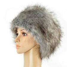 Posh Luxury Ladies Top Quality Faux Fur Glam Hat all saint winter