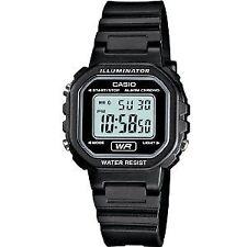 Casio Women's La20wh-1acf Classic Digital Black Resin Watch