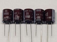 5 Stück Elkos 1000 µF / 35V - radial (M7537)