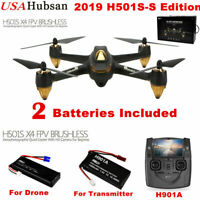 Hubsan H501S S X4 Drone 5.8G FPV Brushless 1080P Camera Quadcopter GPS Follow Me
