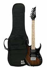 GRGM21MWNS Ibanez Mikro Kid's 3/4 Size Electric Guitar - Walnut Sunburst w/ Bag