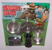 Smokey The Bear Campfire Set NIP Vintage
