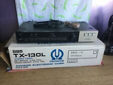 More details for retro pioneer tx-130l stereo tuner with original box and inserts