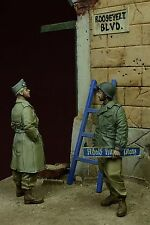 """DDAY MINIATURE """"ROOSEVELT BOULEVARD"""" US SOLDIERS GERMANY 1945 1/35 Cod.35079"""