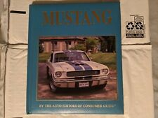 Vintage 1991 Ford Mustang hardcover book by Consumer Guide USA Sports Car Coupe