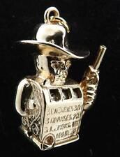 14K Gold Vintage RARE Slot Machine Charm for Bracelet or Necklace