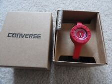 New Red Converse Quartz Water Resistant Ladies Watch